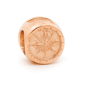 SURREAL 9ct Gold Compass Bead