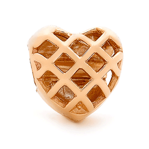 SURREAL 9ct Gold Heart Bead