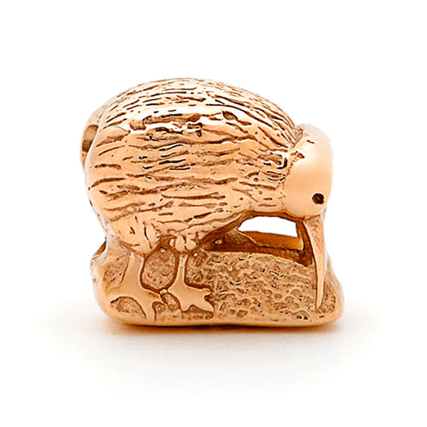 SURREAL 9ct Gold Kiwi Bead