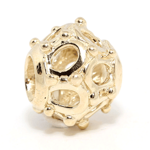 SURREAL 9ct Gold London Eye Bead