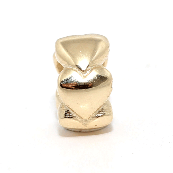 SURREAL 9ct Gold Love Ring Bead
