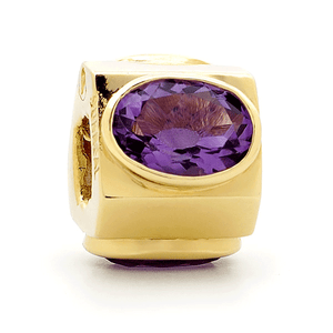 SURREAL 9ct Gold My Colours Cubic Zirconia Range Bead