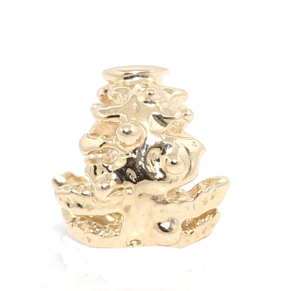 SURREAL 9ct Gold Norfolk Charm Bead