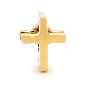 SURREAL 9ct Gold Surreal Cross Bead