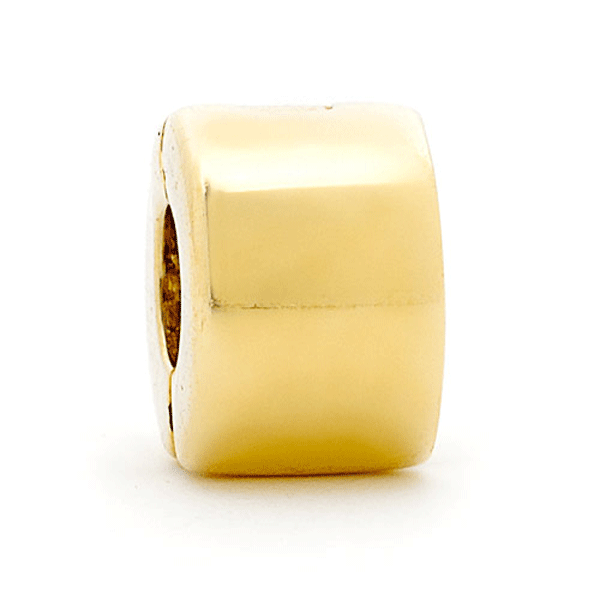 SURREAL 9ct Gold Surreal Stopper Bead