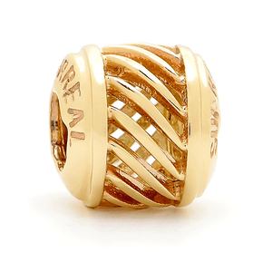 SURREAL 9ct Gold Surreal Waves Bead