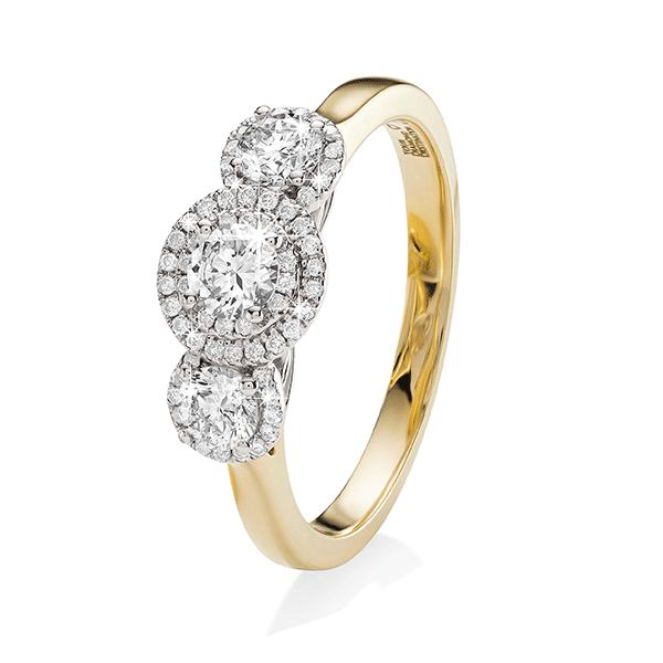 18ct Gold 0.75ct Diamond Ring