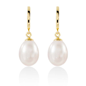 9ct Gold Pearl Earrings