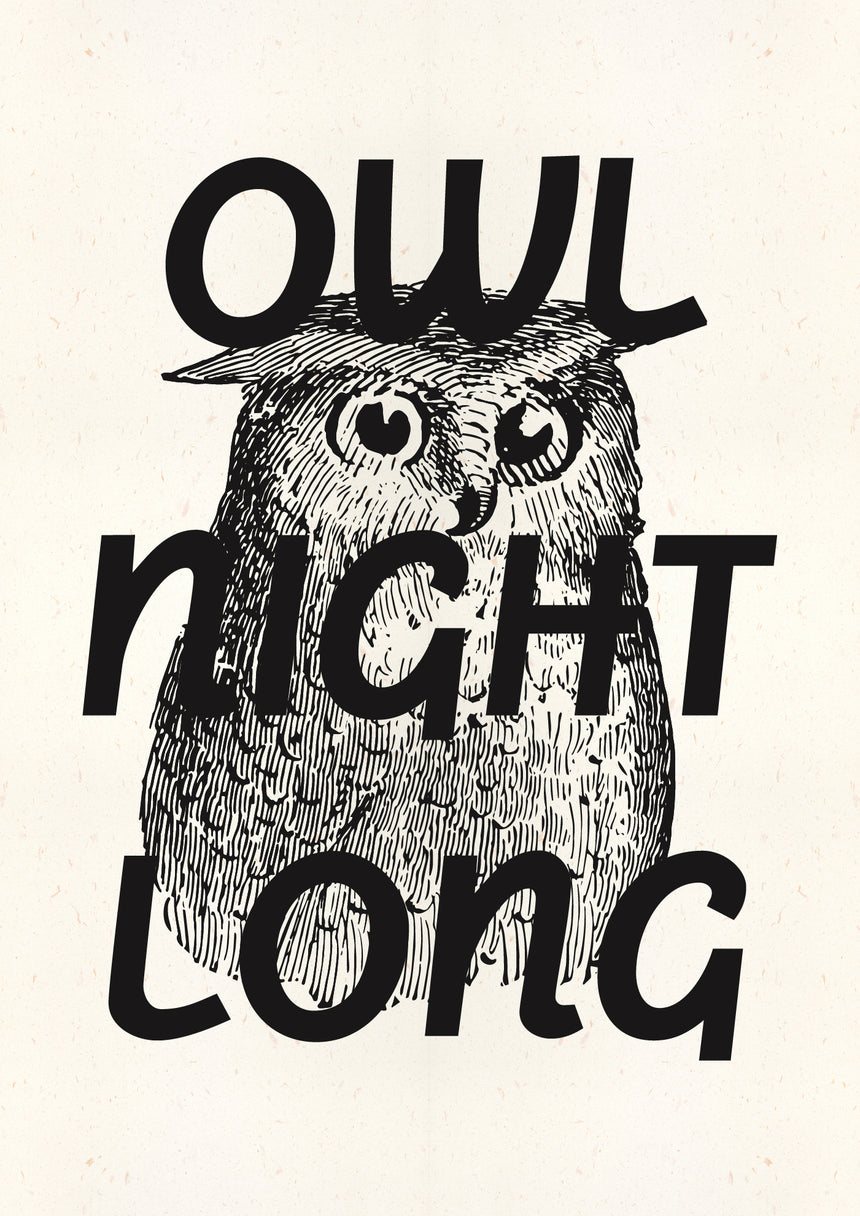 Owl Night Long (A3+)