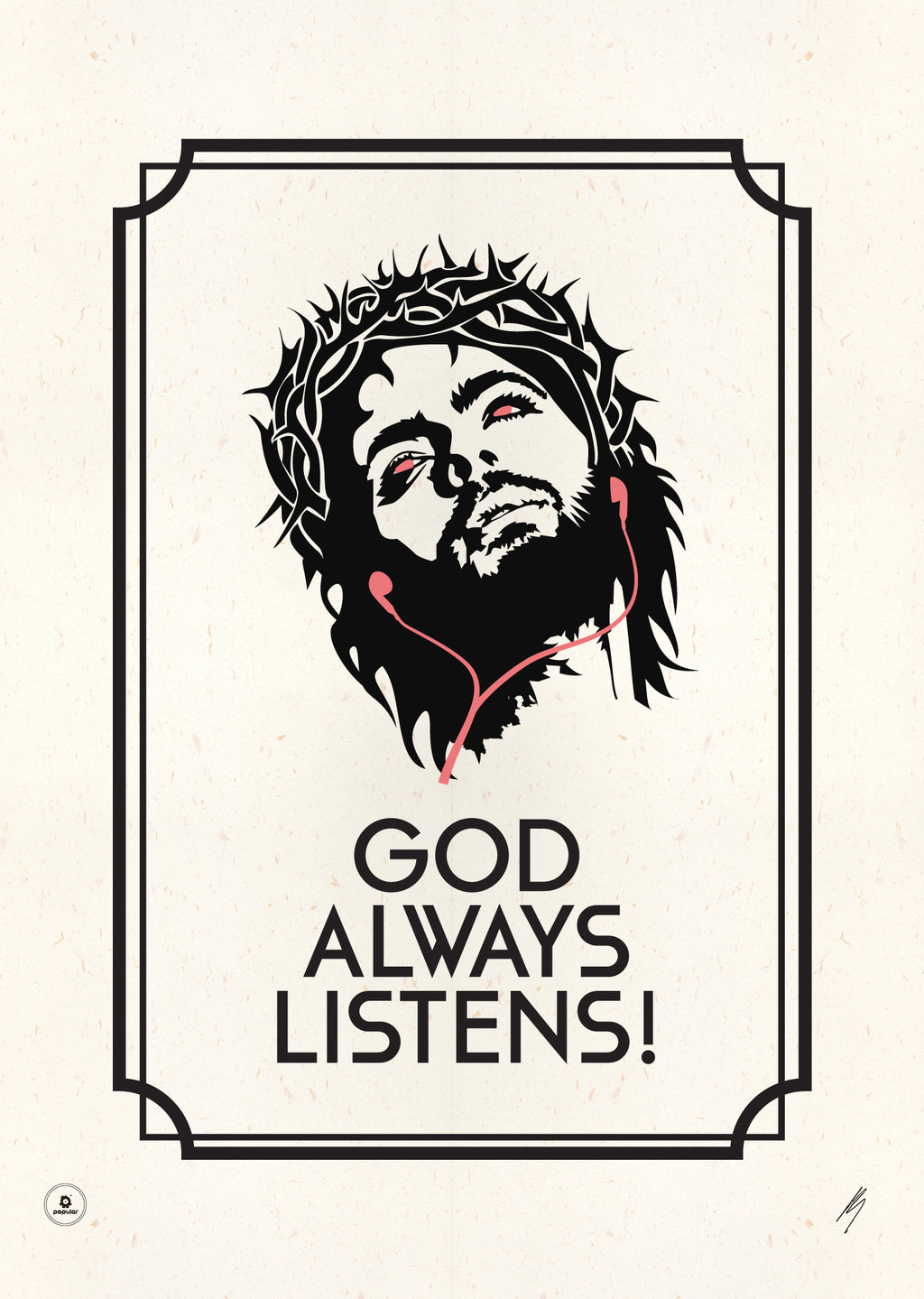 God Always Listens (A3+)