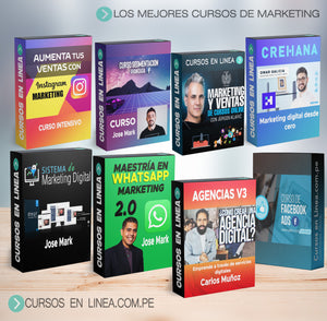 PACK COMPLETO MARKETING DIGITAL