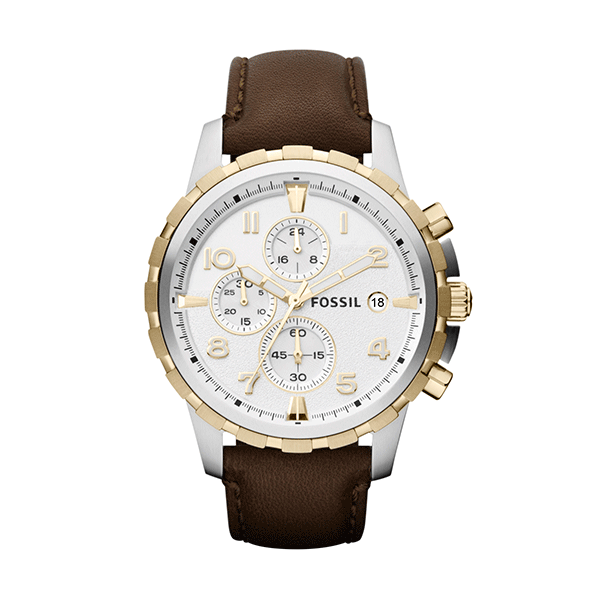Fossil Dean Dark Brown Watch