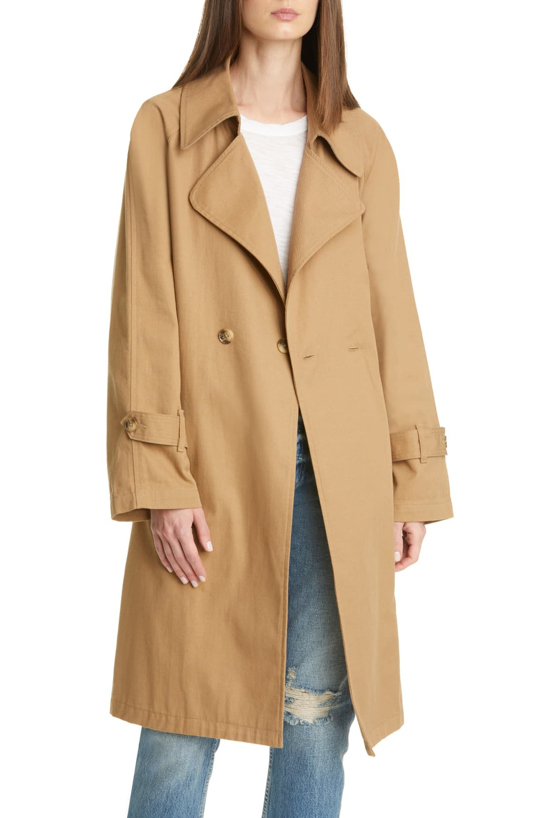 Nicolette Belted Trench Coat