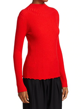 Load image into Gallery viewer, Long Sleeve Wool Ribbed Sweater
