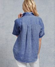 Load image into Gallery viewer, Rose Short Sleeve Button Down