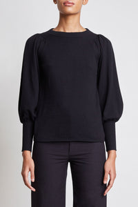 Dewi Puff Sleeve Sweater