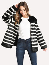 Load image into Gallery viewer, Jerry Faux Fur Coat