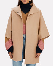 Load image into Gallery viewer, Kimono Mantle Wool Coat