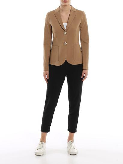 Techno Viscose Single Breasted Blazer