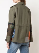Load image into Gallery viewer, Army Patch Jacket
