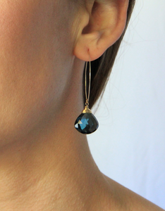 Labradorite Celestial Earrings
