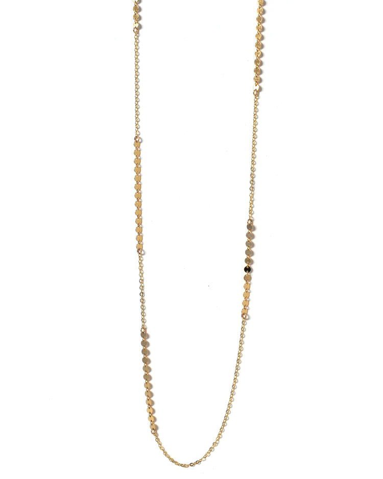 Gold Slinky Necklace