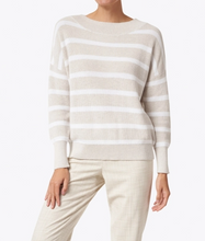 Load image into Gallery viewer, Rib Stripe Pullover