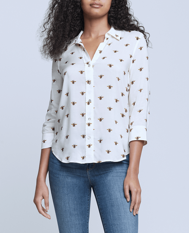 Camille 3/4 Sleeve Blouse (Back In Stock!)