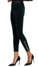 Load image into Gallery viewer, Piper High Rise Skinny Velvet Pants
