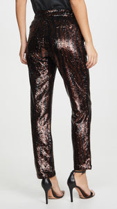 Sequin Chino Pants