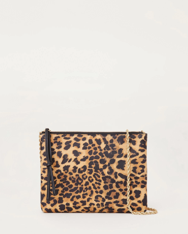 Lilli Leather Clutch