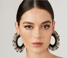 Load image into Gallery viewer, Feather Fiona Hoops