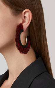 Feather Fiona Hoops