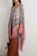 Load image into Gallery viewer, Fringed Poncho