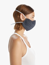 Load image into Gallery viewer, Adjustable Denim Face Mask