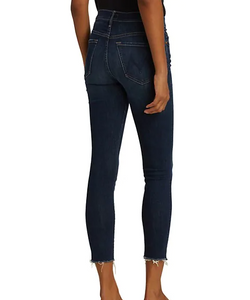 The Stunner Fray Ankle Jeans