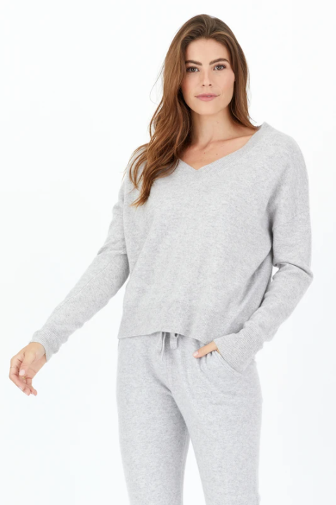 Spencer Cashmere V-Neck Sweater