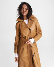 Load image into Gallery viewer, Classic Leather Trench