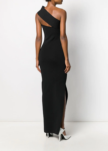Lavena Mid Maxi Dress in Black