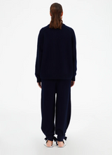 Load image into Gallery viewer, Cashmere Crewneck Oversized Sweater