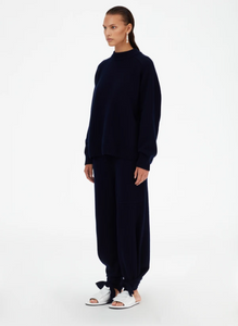 Cashmere Crewneck Oversized Sweater