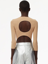 Load image into Gallery viewer, Giselle Open Back Sweater