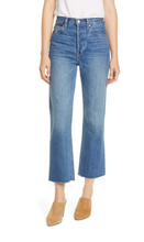 Load image into Gallery viewer, Gia Crop Flare Jeans