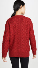 Load image into Gallery viewer, Cable V-Neck Sweater