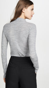 Long Sleeve Funnel Neck Sweater