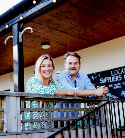 Gabby and Paul Palmer, owners of Mackenzies Smokehouse, Cafe and Farm Shop
