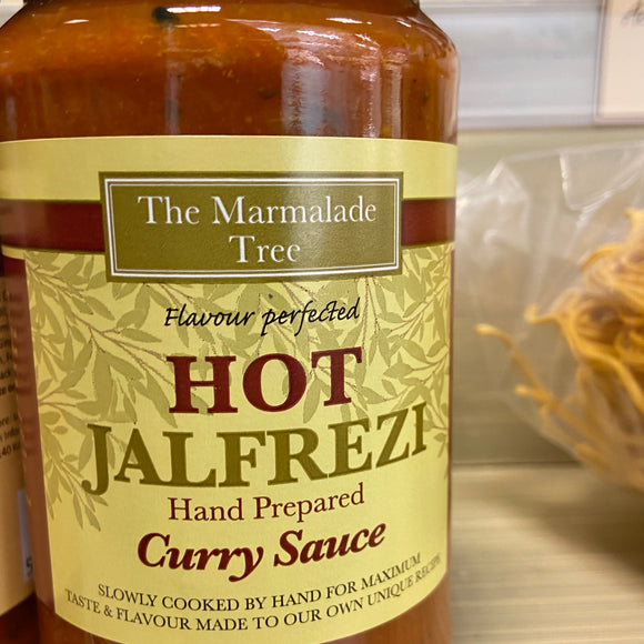 The Marmalade Tree - Hot Jalfrezi Curry Sauce