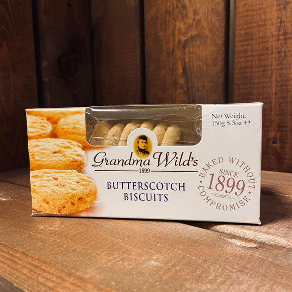 Grandma Wild's - Butterscotch Biscuits