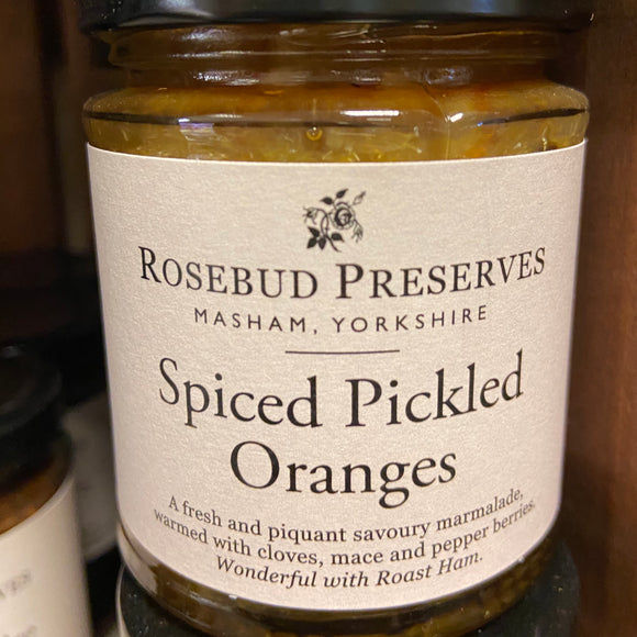 Rosebud Preserves - Spiced Pickled Oranges
