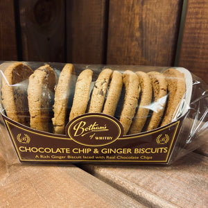 Bothams of Whitby - Chocolate Chip & Ginger Biscuits